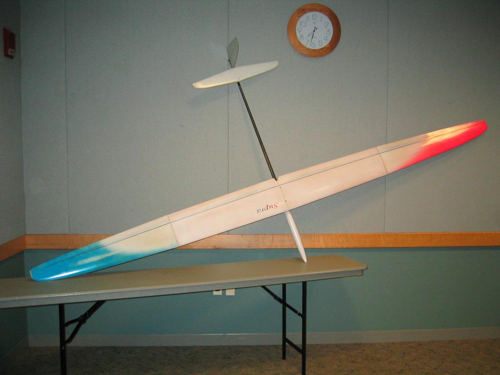 Mark Drela's Supra 3 4m