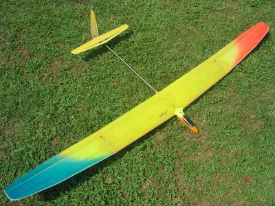Charles River Radio Controllers - Mark Drela's Aegea 2m Glider